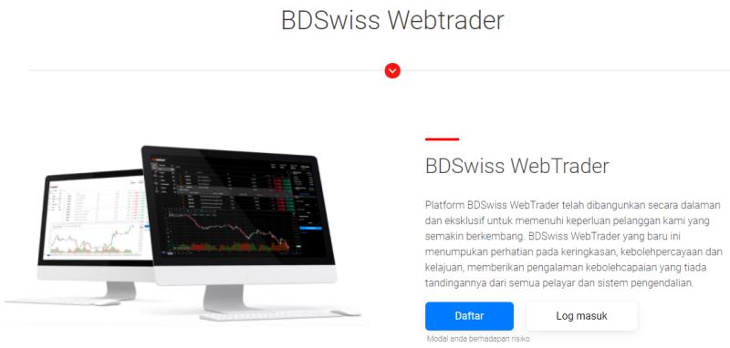 BDSwiss Webtrader MY