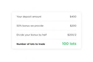 OctaFX Bonus Formula