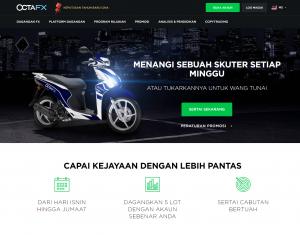 OctaFX Scooter Bonus (MY)