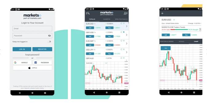 Marketsx App