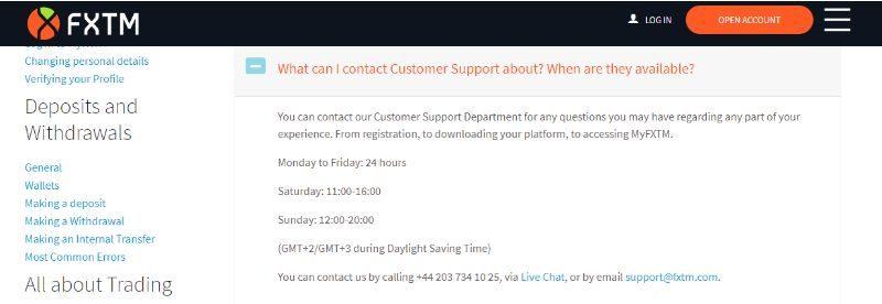 Customer-Service-Hours