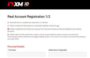 XM Account Opening